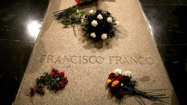 Grabstätte von Franco.