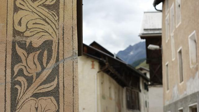 Chasas engiadinaisas ad Ardez - maletg simbolic