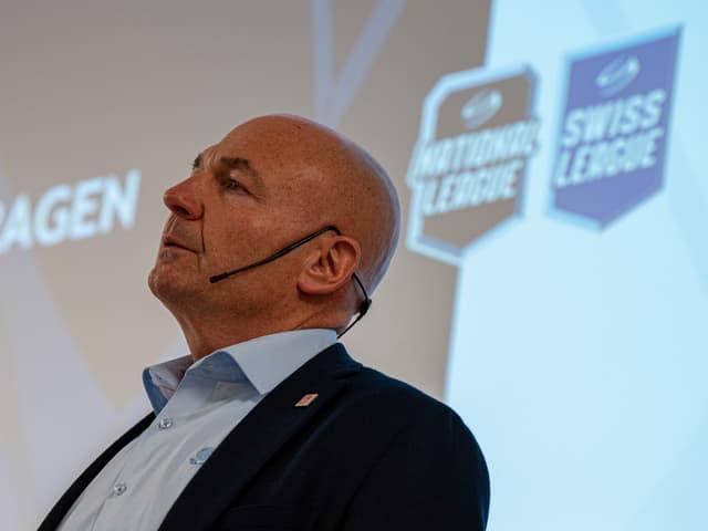 Liga-Direktor Denis Vaucher