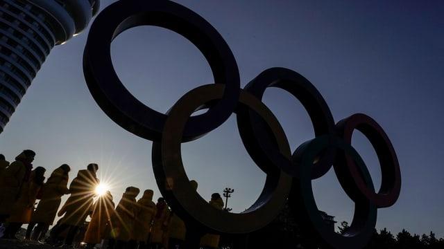 Purtret da rintgs olimpics a Pyeongchang.
