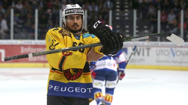 Eric Blum auf dem Eis.