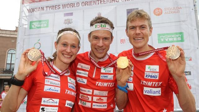 Judith Wyder, Daniel Hubmann ed Andreas Kyburz.