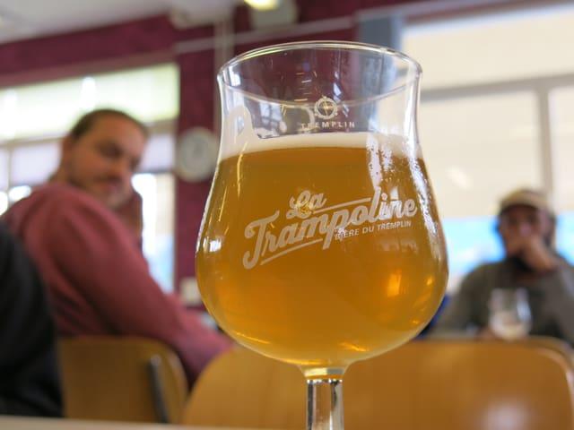 Ein Glas Bier.