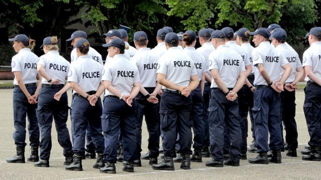 Polizisten in der Ausbildung