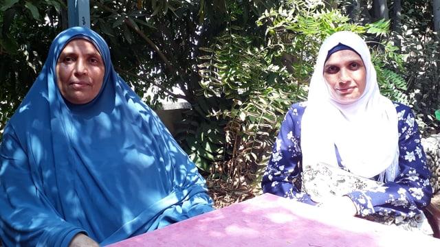 Nada engagiert sich beim IKRK-Programm, welches Angehörige von Vermitssten begleitet.
