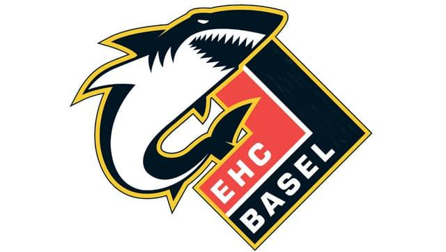 Das Logo des EHC mit dem Haifisch