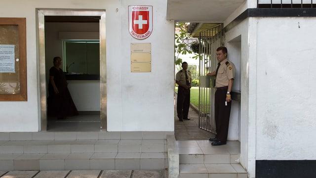 Ambassada svizra a Sri Lanka.