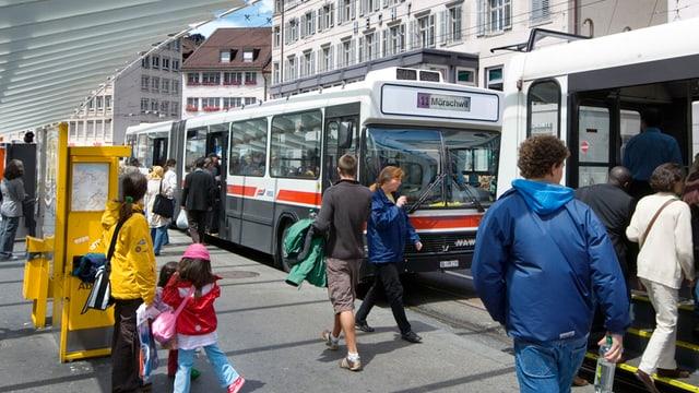Bus in St. Gallen
