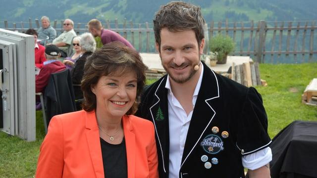 Video «YB-Sportchef Fredy Bickel jasst im Berner Oberland» abspielen