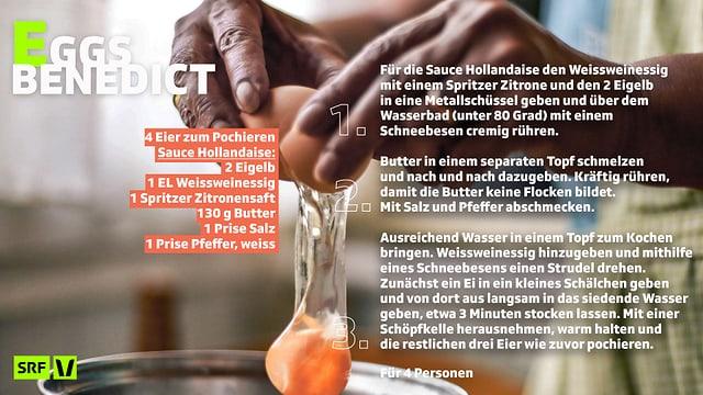 Rezept für Eggs Benedict