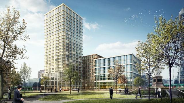 Visualisierung Baloise Neubau