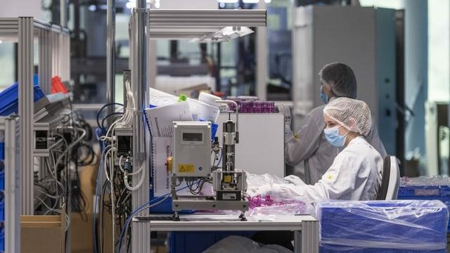 Interpresa d'industria medicinala.