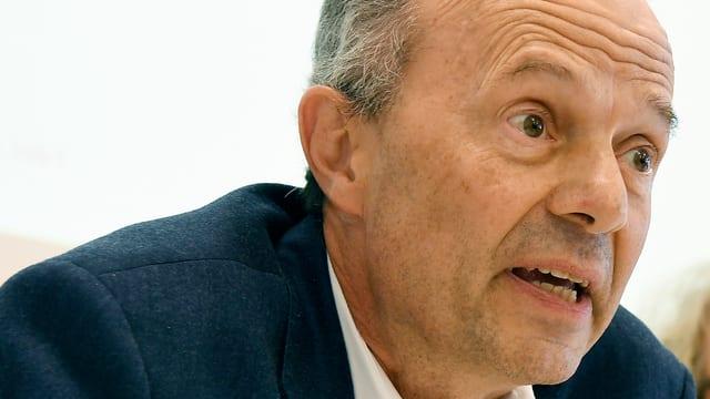 Porträt von Zürichs AL-Stadtrat Richard Wolff.