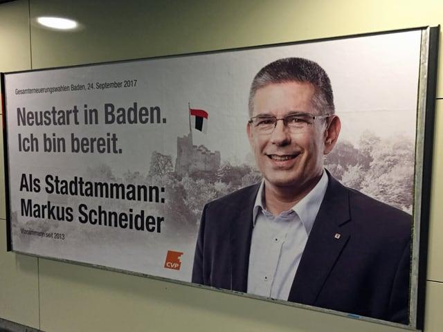 Plakat Markus Schneider