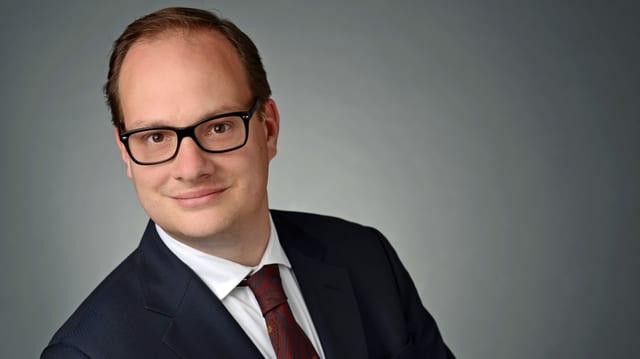 Porträt von Oliver Schärli. (seco)
