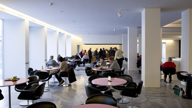 Das Museumcafé des Kunsthaus Zürich.
