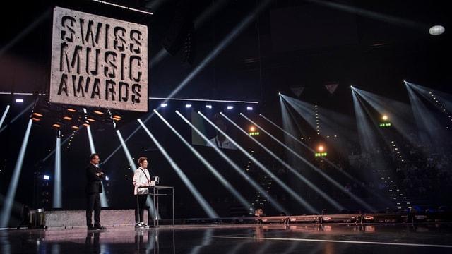 Maletg d'archiv dals Swiss Music Awards.