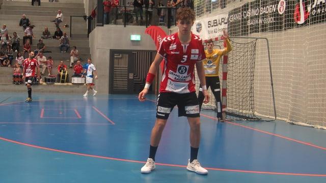 Ein Handball-Spieler
