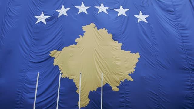 La bandiera dal Cosovo.