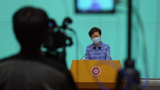 Carrie Lam, Regierungschefin Hongkongs