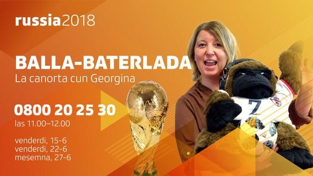 Visual: Balla-baterlada: la canorta sportiva cun Georgina Janki.