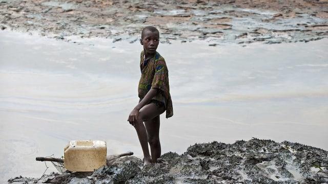 Das nigerianische Ogoniland gehört zu den am stärksten verschmutzen Regionen des Landes.