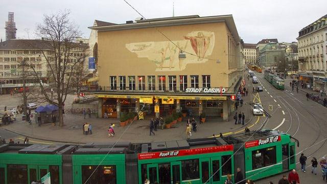 Basler Stadtcasino am Barfüsserplatz.