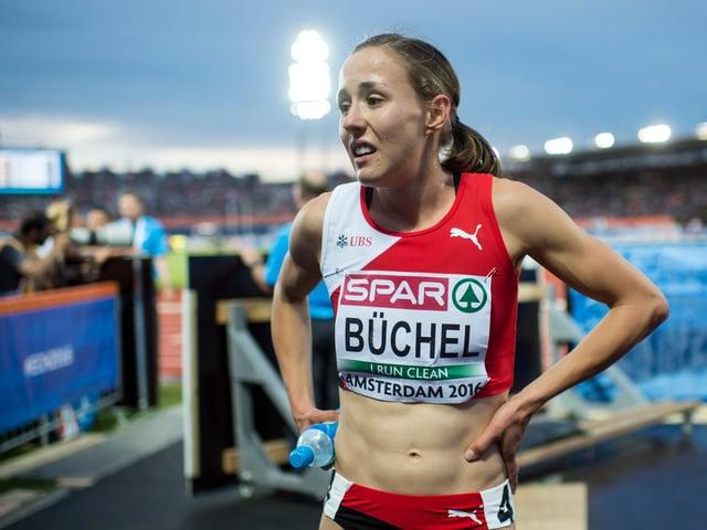 Enttäuschte Selina Büchel an der EM in Amsterdam.