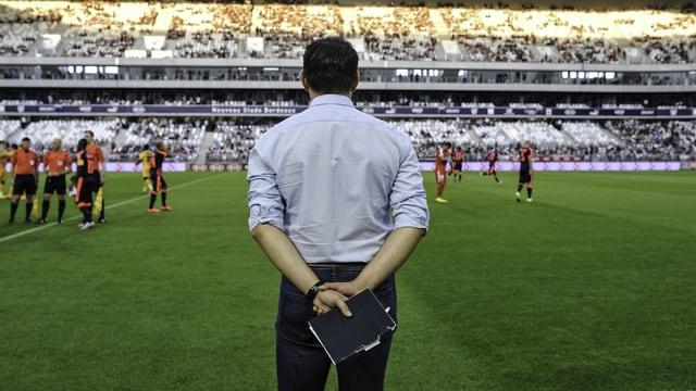 Bordeaux-Coach Willy Sagnol