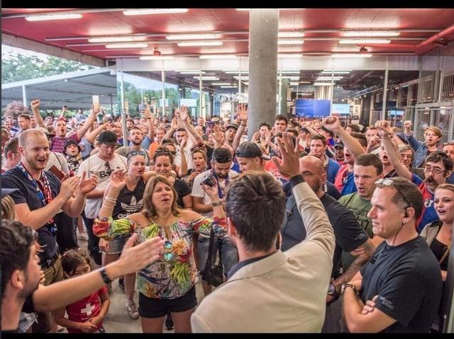 Der FCB-Instagram-Account zeigt Delgados Popularität bei den Fans.