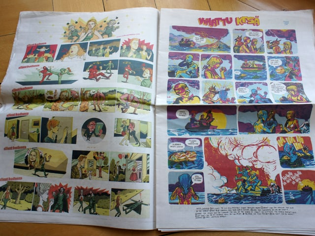 Das Comics-Magazin «Kuti» bringt viermal jährlich finnische und andere Comics – und hat Fans auf der ganzen Welt.