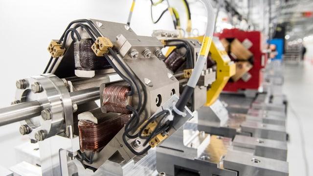 Laseranlage in einem Labor