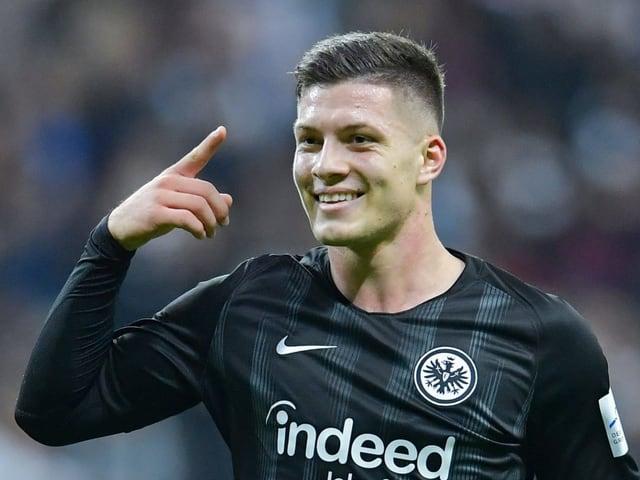 Mit 21 Jahren gehört Luka Jovic zu den talentiersten Stürmern in Europa.
