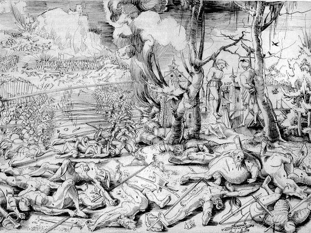 Holzschnitt von 1521