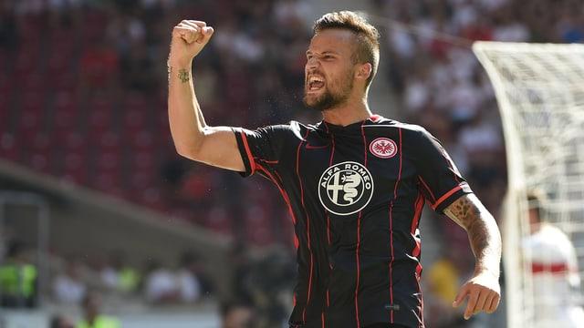 Haris Seferovic präsentierte sich gegen Stuttgart im besten Licht.