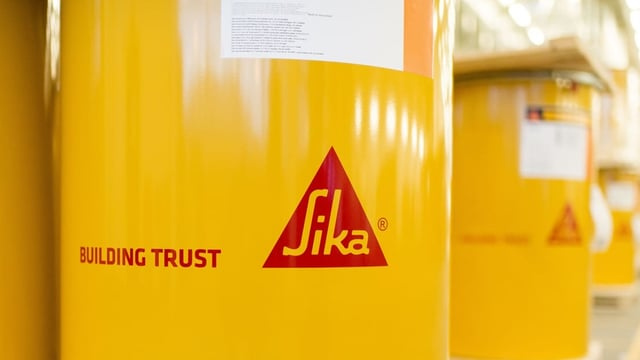 Logo da la firma Sika.