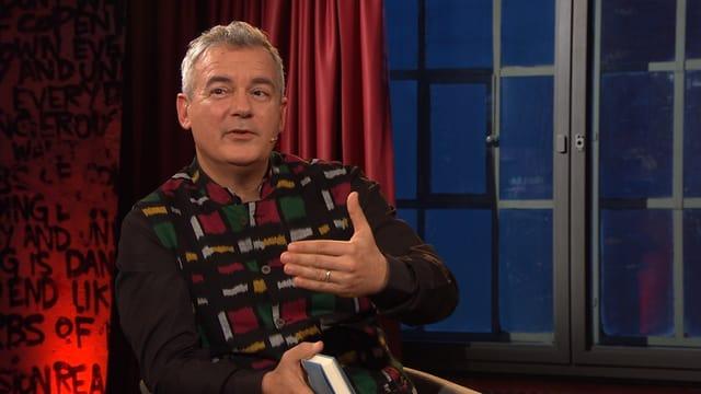 Ilija Trojanow im Literaturclub.