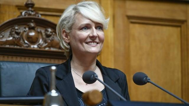 Isabelle Moret.