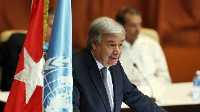 Secretari general da l'ONU Antonio Guterres.