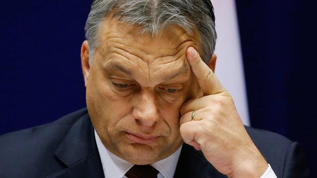 Orban Nahaufnahme.