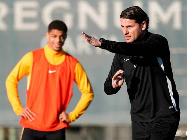 Testet mit YB gegen Kriens und Winterthur: Trainer Gerardo Seoane.