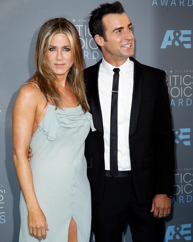 Jennifer Aniston und Justin Theroux.