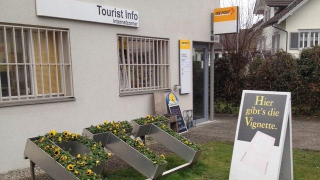 Die Poststelle in Altenrhein