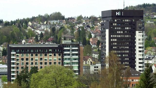 Das Kantonsspital St. Gallen.