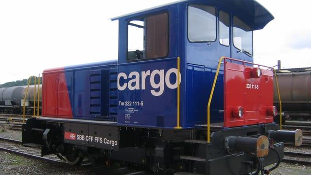 Rangierlokomotive von SBB-Cargo.
