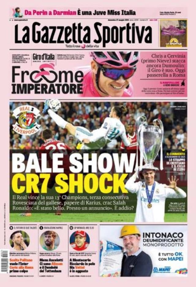 Sportzeitung England