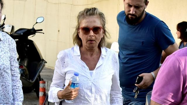 Die türkische Journalistin Nazlı Ilıcak
