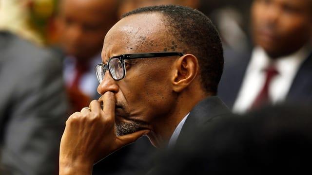 Paul Kagame in einer Archivaufnahme.