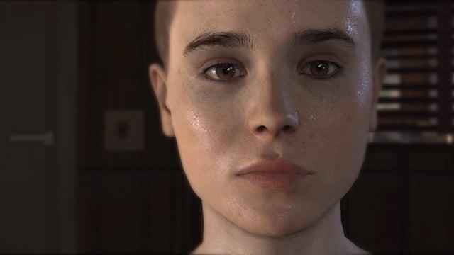 Ein Portraitbild der Figur Jodie Holmes aus «Beyond: Two Souls»