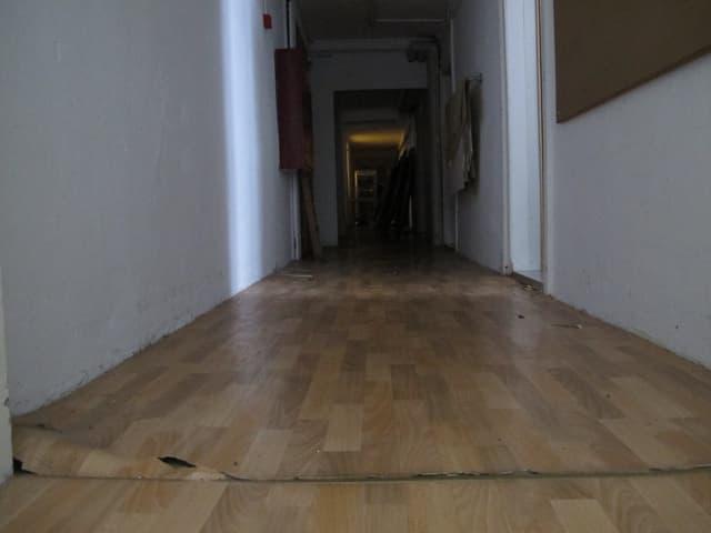 Bild vom Boden eines Ganges im Ostflügel des Kurhauses Weissenstein.